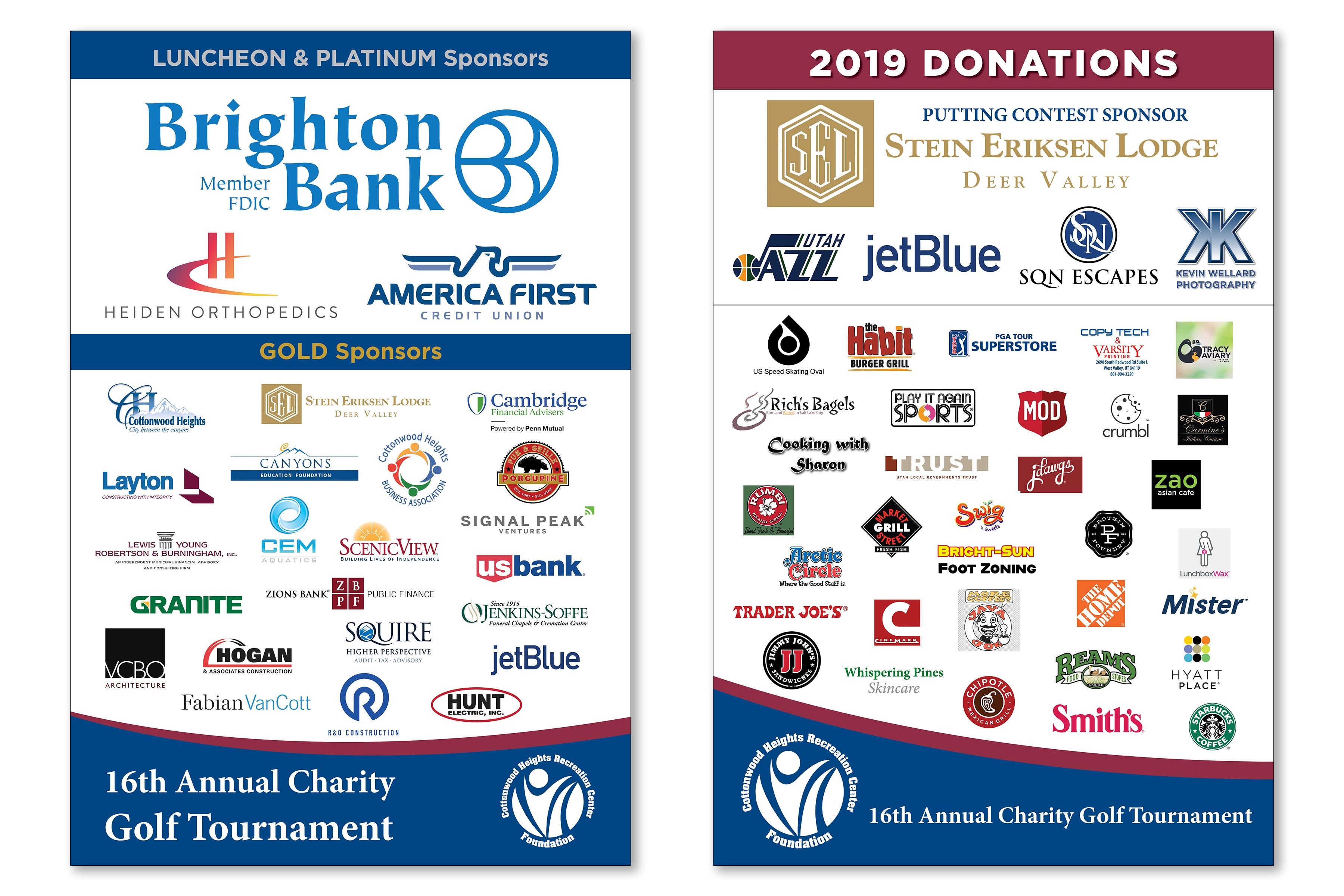 16th Annual CHRC Foundation Charity Golf Tournament